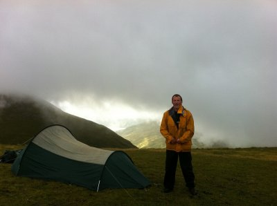 Wild camping near Meall Buidhe