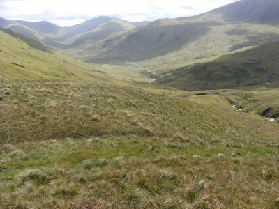 Looking south to Glen Lyon